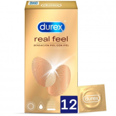 DUREX REAL FEEL 12 UNITS