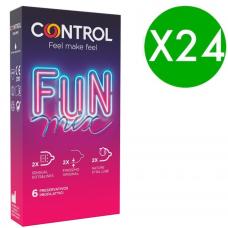 CONTROL FEEL FUN MIX 6 UDS / PACK 24 UDS
