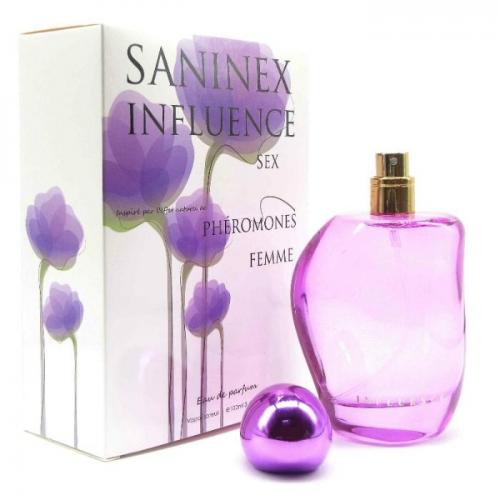 PERFUME PHEROMONES MULHER SANINEX INFLUENCE SEX.