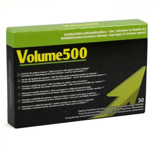 VOLUME 500 AUMENTAR A QUANTIDADE E QUALIDADE DO ESPERMÃO