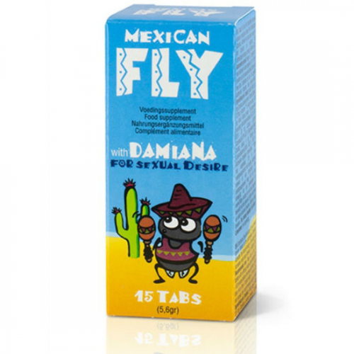MEXICAN FLY 15 TABS
