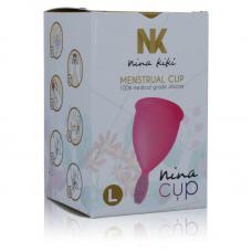 NINA CUP MENSTRUAL CUP TAMANHO L ROSA