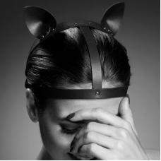 BIJOUX INDISCRETS MAZE CAT EARS HEADPIECE BROWN