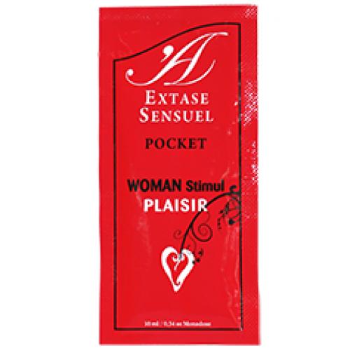 EXTASE SENSUEL WOMAN STIMUL PLAISIR POCKET