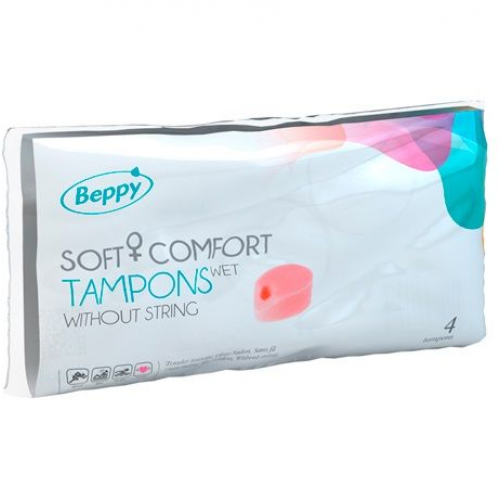 BEPPY SOFT COMFORT TAMPONS MOLHAM 4 UNIDADES