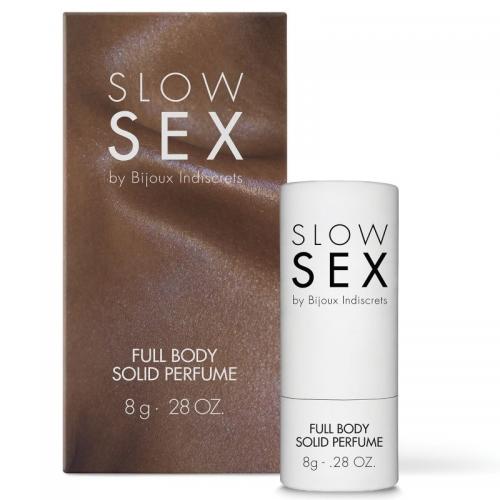 PERFUME SLOW SEX FULL BODY SÓLIDO 8 GR