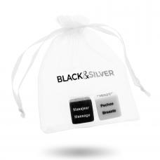 BLACK&SILVER DICE FOR COUPLES ES/EN