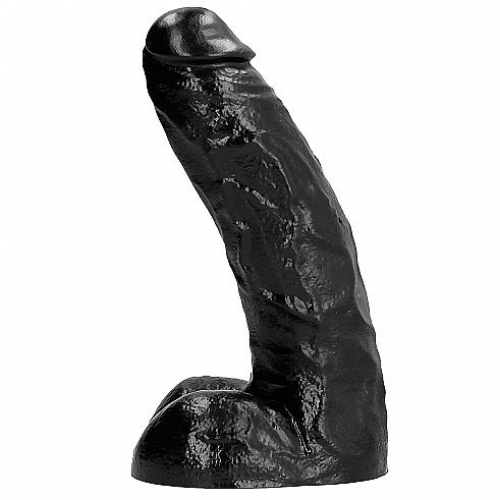 ALL BLACK DONG 25,5CM
