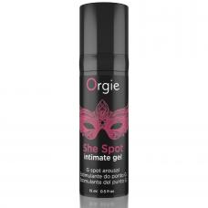 ORGIE SHE SPOT G-SPOT GEL ESTIMULANTE 15 ML