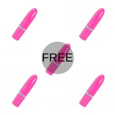 AMORESSA IVY VIBRATOR PINK 4 + 1 FREE