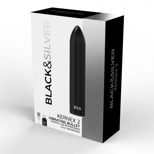BLACK&SILVER BULLET VIBRATING  KERNEX 2 BLACK
