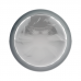 COQUETTE PLUG ANAL DE METAL TALLA M CRISTAL CLEAR 3.5 X 8CM