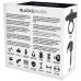 BLACK&SILVER BURTON RECHARGEABLE VIBRATING RING 10V BLACK