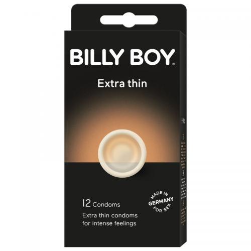 BILLY BOY PRESERVATIVOS EXTRA FINOS 12 UNIDADES