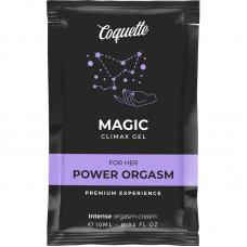 COQUETTE MAGIC CLIMAX GEL PARA O HER ORGASM ENHANCER 10 ML