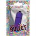 CALEX VIBRATING BULLET 3 SPEEDS - ROXO