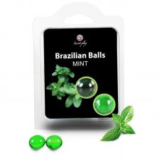 BRAZILIAN BALLS MINT CONJUNTO 2 BOLAS
