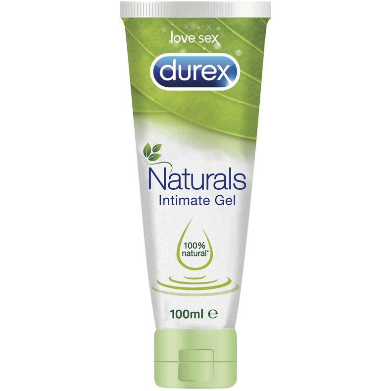 Gel Lubrificante Naturals Intimate Durex 100 ml
